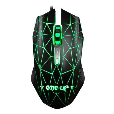 ONEUP 790 Optical Wired USB Gaming Mouse with Avago 5050 Sensor