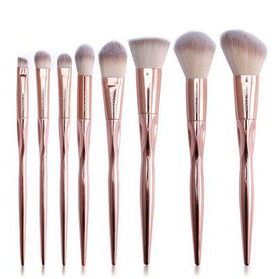 Professional Soft Foundation Makeup Brushes 8PCS