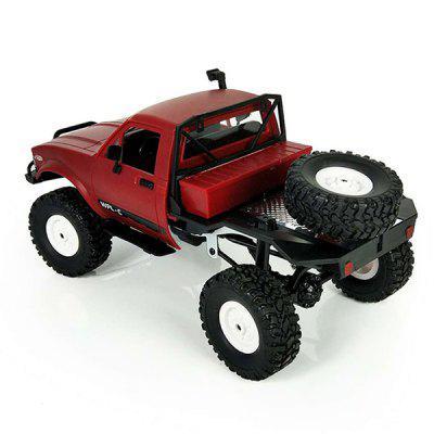 WPL C14 1:16 2.4G 2CH 4WD Mini Off-road RC Semi-truckRC Cars<br>WPL C14 1:16 2.4G 2CH 4WD Mini Off-road RC Semi-truck<br><br>Channel: 2-Channels<br>Charging Time: 120 Minutes<br>Control Distance: 30-80m<br>Detailed Control Distance: 30~40m<br>Drive Type: 4 WD<br>Functions: Climb<br>Material: Metal, TPR<br>Package Contents: 1 x RC Truck, 1 x Transmitter, 1 x ESC, 1 x 130 Plastic Case Motor<br>Package size (L x W x H): 44.50 x 16.00 x 20.50 cm / 17.52 x 6.3 x 8.07 inches<br>Package weight: 1.3000 kg<br>Product size (L x W x H): 31.00 x 14.10 x 14.00 cm / 12.2 x 5.55 x 5.51 inches<br>Product weight: 0.5700 kg<br>Proportion: 1:16<br>Racing Time: 25 - 30mins<br>Remote Control: 2.4GHz Wireless Remote Control<br>Transmitter Power: 2 x 1.5V AA battery (not included)<br>Type: Off-Road Car