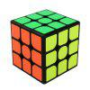 MoYu 3 x 3 x 3 Speed ​​Smooth Magic Cube Toy 57mm - NERO
