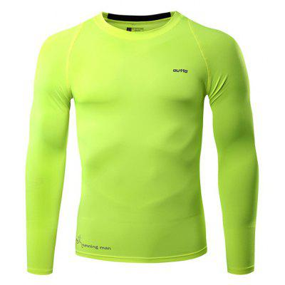Outto Breathable Long Sleeve Jersey for Men