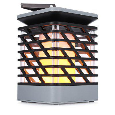 Solar LED Licht Flamme Feuer für Outdoor Dekoration