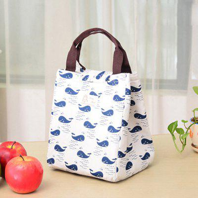 HESSION Hand-held Lunch Bag Insulated Storage Containers