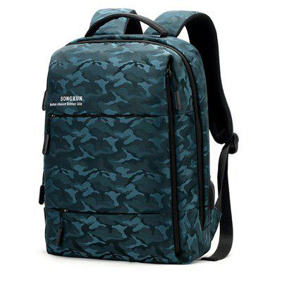 Songkun 17151 Waterproof Anti-slip Backpack Laptop Bag