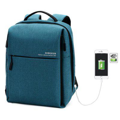 Songkun 17130 Waterproof Anti-slip Backpack Laptop Bag