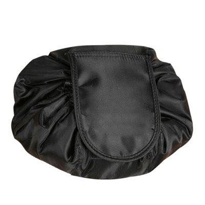 Lazy Cosmetic Bag Drawstring Portable Travel PouchStorage Bags<br>Lazy Cosmetic Bag Drawstring Portable Travel Pouch<br><br>Functions: Travel<br>Materials: Polyester<br>Package Contents: 1 x Cosmetic Bag<br>Package Size(L x W x H): 12.00 x 6.00 x 6.00 cm / 4.72 x 2.36 x 2.36 inches<br>Package weight: 0.3000 kg<br>Product Size(L x W x H): 10.00 x 5.00 x 5.00 cm / 3.94 x 1.97 x 1.97 inches<br>Product weight: 0.2500 kg<br>Types: Storage Bags