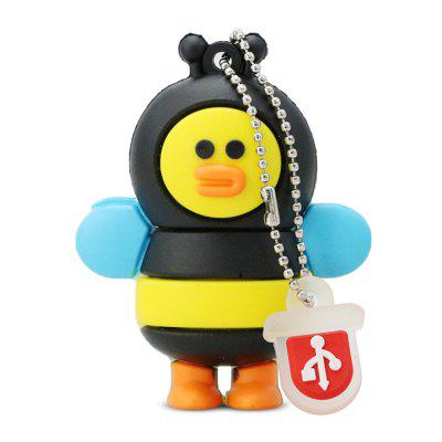 Cartoon Silicone USB 2.0 Personality U Disk