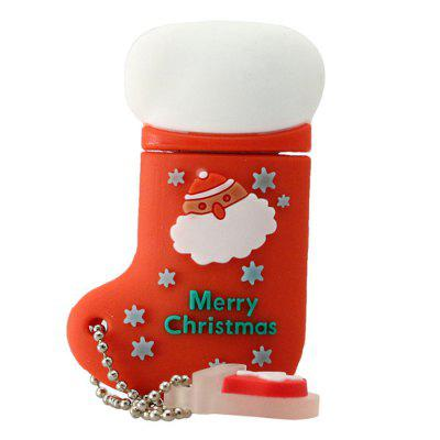 Cute Silicone Christmas Boots USB 2.0 Personality U DiskUSB Flash Drives<br>Cute Silicone Christmas Boots USB 2.0 Personality U Disk<br><br>Compatible with: Computer, Smartphones, Windows<br>Interface: USB 2.0<br>Max. Read Speed: 10 - 15 MB / s<br>Max. Write Speed: 6 - 8 MB / s<br>Package Contents: 1 x USB 2.0 Personality U Disk<br>Package size (L x W x H): 11.00 x 7.00 x 3.00 cm / 4.33 x 2.76 x 1.18 inches<br>Package weight: 0.0320 kg<br>Product size (L x W x H): 5.00 x 3.00 x 1.00 cm / 1.97 x 1.18 x 0.39 inches<br>Product weight: 0.0220 kg<br>Style: Cartoon