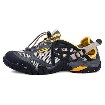 Couple Versatile Outdoor Amphibious Quick Drying Hiking SandalsMens Sandals<br>Couple Versatile Outdoor Amphibious Quick Drying Hiking Sandals<br><br>Closure Type: Elastic band<br>Contents: 1 x Pair of Shoes<br>Function: Slip Resistant<br>Materials: MD, Mesh, PU, Rubber, EVA<br>Occasion: Rainy Day, Holiday, Daily, Casual, Outdoor Clothing<br>Outsole Material: MD,Rubber<br>Package Size ( L x W x H ): 31.50 x 22.00 x 11.50 cm / 12.4 x 8.66 x 4.53 inches<br>Package weight: 1.0000 kg<br>Product weight: 0.8000 kg<br>Seasons: Autumn,Spring,Summer<br>Style: Modern, Leisure, Fashion, Comfortable, Casual<br>Toe Shape: Round Toe<br>Type: Sandals<br>Upper Material: Mesh,PU