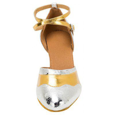 Women Flowers Motif High Heel Pumps for Latin Waltz DancingWomens Pumps<br>Women Flowers Motif High Heel Pumps for Latin Waltz Dancing<br><br>Closure Type: Buckle Strap<br>Contents: 1 x Pair of Shoes<br>Function: Slip Resistant<br>Lining Material: Cotton Fabric<br>Materials: Fabric, Leather, PU<br>Occasion: Tea Party, Shopping, Party, Office, Holiday, Casual, Daily, Dancing<br>Outsole Material: Leather<br>Package Size ( L x W x H ): 27.00 x 17.00 x 10.00 cm / 10.63 x 6.69 x 3.94 inches<br>Package weight: 0.5200 kg<br>Product weight: 0.4800 kg<br>Seasons: Autumn,Spring,Summer<br>Style: Modern, Leisure, Fashion, Comfortable, Casual<br>Toe Shape: Pointed Toe<br>Type: Pumps<br>Upper Material: PU