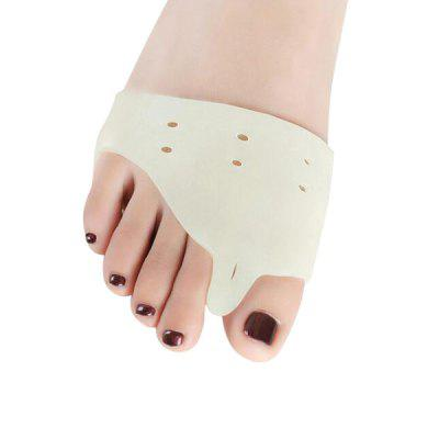 Crooked Toe Corrector Silicone Fight Bunions Separator 2PCS