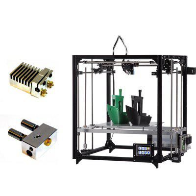 FLSUN F3 Auto-leveling Dual-nozzle DIY 3D Printer Kit3D Printers, 3D Printer Kits<br>FLSUN F3 Auto-leveling Dual-nozzle DIY 3D Printer Kit<br><br>Brand: FLSUN, FLSUN<br>Connector Type: USB, SD card, USB, SD card<br>File format: OBJ, STL, G-code, STL, G-code, OBJ<br>Frame material: Aluminum, Aluminum<br>Language: English, English<br>Layer thickness: 0.05-0.4mm, 0.05-0.4mm<br>LCD Screen: Yes, Yes<br>Material diameter: 1.75mm, 1.75mm<br>Nozzle diameter: 0.4mm, 0.4mm<br>Nozzle quantity: Double, Double<br>Package size: 75.00 x 35.00 x 15.00 cm / 29.53 x 13.78 x 5.91 inches, 75.00 x 35.00 x 15.00 cm / 29.53 x 13.78 x 5.91 inches<br>Package weight: 13.0000 kg, 13.0000 kg<br>Packing Contents: 1 x 3D Printer Kit, 1 x SD Card, 1 x Set of Tools, 2 x 100m PLA Filament, 1 x 3D Printer Kit, 1 x SD Card, 1 x Set of Tools, 2 x 100m PLA Filament<br>Packing Type: unassembled packing, unassembled packing<br>Platform board: Aluminum Base, Aluminum Base<br>Print speed: 50 - 300mm/s, 50 - 300mm/s<br>Product forming size: 26 x 26 x 35cm, 26 x 26 x 35cm<br>Product size: 52.00 x 52.00 x 58.00 cm / 20.47 x 20.47 x 22.83 inches, 52.00 x 52.00 x 58.00 cm / 20.47 x 20.47 x 22.83 inches<br>Product weight: 11.0000 kg, 11.0000 kg<br>Supporting material: ABS, HIPS, HIPS, ABS, PVA, Wood, PVA, PLA, PLA, Wood<br>Type: DIY, DIY<br>Voltage: 110-240V, 110-240V<br>Working Power: 360W, 360W<br>XY-axis positioning accuracy: 0.05mm, 0.05mm<br>Z-axis positioning accuracy: 0.04mm, 0.04mm
