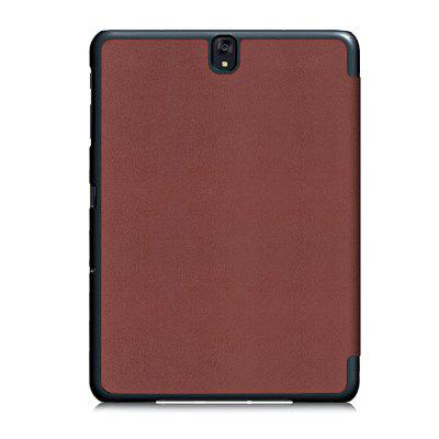 Scratch-resistant Cover for Samsung Galaxy Tab S3 9.7 inch T820 / T825Tablet Accessories<br>Scratch-resistant Cover for Samsung Galaxy Tab S3 9.7 inch T820 / T825<br><br>Material: PU Leather<br>Package Contents: 1 x Case<br>Package size (L x W x H): 26.00 x 19.00 x 3.00 cm / 10.24 x 7.48 x 1.18 inches<br>Package weight: 0.2000 kg<br>Product size (L x W x H): 24.30 x 17.40 x 1.40 cm / 9.57 x 6.85 x 0.55 inches<br>Product weight: 0.1800 kg<br>Style: Modern