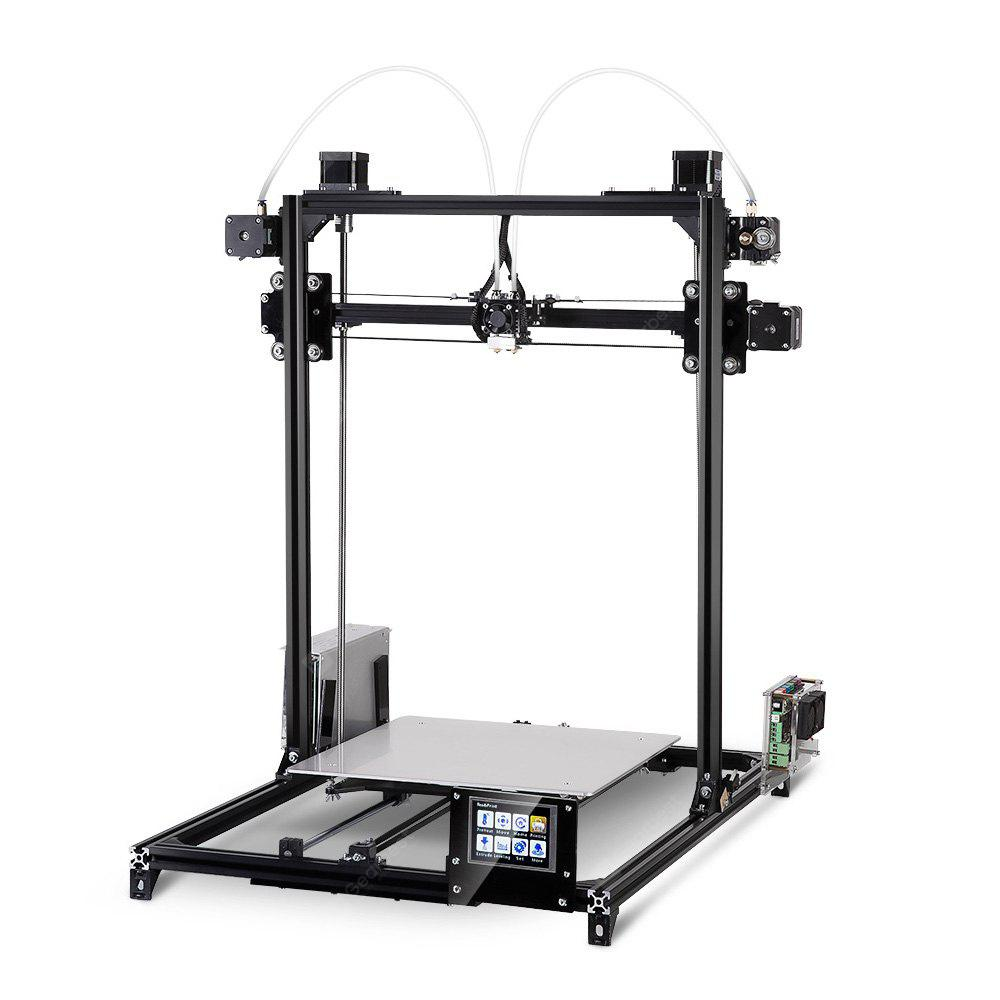 Image result for FLSUN i3 Plus Dual-extruder Touch Screen DIY 3D Printer Kit gearbest