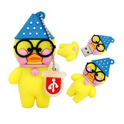 Cute Duck USB2.0 Flash Drive U DiskUSB Flash Drives<br>Cute Duck USB2.0 Flash Drive U Disk<br><br>Compatible with: Computer<br>Interface: USB 2.0<br>Max. Read Speed: 15MB / S<br>Max. Write Speed: 8MB / S<br>Package Contents: 1 x USB2.0 Flash Drive<br>Package size (L x W x H): 11.00 x 7.00 x 2.00 cm / 4.33 x 2.76 x 0.79 inches<br>Package weight: 0.0350 kg<br>Product size (L x W x H): 6.00 x 2.00 x 1.00 cm / 2.36 x 0.79 x 0.39 inches<br>Product weight: 0.0250 kg<br>Style: Cartoon