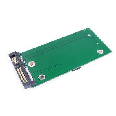 ThinkPad X1 SSD to SATA 2.5-inch Adapter CardPCI Cards<br>ThinkPad X1 SSD to SATA 2.5-inch Adapter Card<br><br>Material: PCB<br>Package Contents: 1 x Adapter Card, 2 x Screw, 2 x Nut<br>Package size (L x W x H): 12.00 x 5.00 x 2.00 cm / 4.72 x 1.97 x 0.79 inches<br>Package weight: 0.0260 kg<br>Product weight: 0.0160 kg