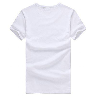 Short Sleeves T-shirt with Floral Letters MotifsMens Short Sleeve Tees<br>Short Sleeves T-shirt with Floral Letters Motifs<br><br>Material: Cotton<br>Neckline: Round Neck<br>Package Content: 1 x T-shirt<br>Package size: 26.00 x 20.00 x 1.00 cm / 10.24 x 7.87 x 0.39 inches<br>Package weight: 0.2200 kg<br>Product weight: 0.2000 kg<br>Season: Summer<br>Sleeve Length: Short Sleeves<br>Style: Casual