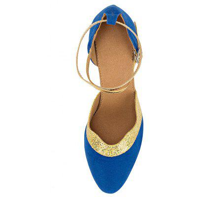 Women Sparkle Soft Latin Waltz High Heel PumpsWomens Pumps<br>Women Sparkle Soft Latin Waltz High Heel Pumps<br><br>Closure Type: Buckle Strap<br>Contents: 1 x Pair of Shoes<br>Decoration: Split Joint<br>Function: Slip Resistant<br>Lining Material: Cotton Fabric<br>Materials: Suede, Fabric, Leather<br>Occasion: Tea Party, Shopping, Party, Casual, Daily, Dancing, Holiday<br>Outsole Material: Leather<br>Package Size ( L x W x H ): 27.00 x 17.00 x 10.00 cm / 10.63 x 6.69 x 3.94 inches<br>Package weight: 0.5000 kg<br>Product weight: 0.4000 kg<br>Seasons: Autumn,Spring,Summer<br>Style: Modern, Leisure, Fashion, Comfortable, Casual<br>Toe Shape: Pointed Toe<br>Type: Pumps<br>Upper Material: Suede