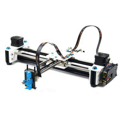 EleksMaker EleksDraw XY Pen Plotter Drawing Robot3D Printers, 3D Printer Kits<br>EleksMaker EleksDraw XY Pen Plotter Drawing Robot<br><br>Engraving Accuracy: 0.1mm<br>Engraving Area: 28 x 20cm<br>Package size: 50.00 x 40.00 x 13.00 cm / 19.69 x 15.75 x 5.12 inches<br>Package weight: 3.4000 kg<br>Packing Contents: 1 x Drawing Robot, 1 x Power Adapter, 1 x USB Cable<br>Product size: 45.00 x 37.00 x 10.00 cm / 17.72 x 14.57 x 3.94 inches<br>Product weight: 3.0000 kg<br>Type: DIY<br>Voltage Range: AC 110 - 220V