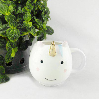 Creative Elegant Mug Cartoon Style Ceramic Cup