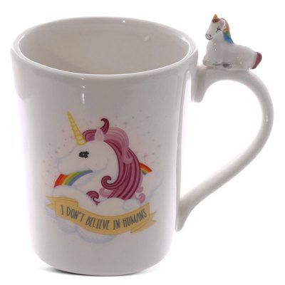Creative Ceramic Mug Magical Horse Rainbows Coffee Cup