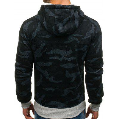 Men Camouflage Pattern Long Sleeve HoodieMens Hoodies &amp; Sweatshirts<br>Men Camouflage Pattern Long Sleeve Hoodie<br><br>Package Contents: 1 x Hoodie<br>Package size: 30.00 x 25.00 x 3.00 cm / 11.81 x 9.84 x 1.18 inches<br>Package weight: 0.4200 kg<br>Product weight: 0.4000 kg