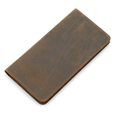 DUDINI Men Retro Genuine Leather Long Passport WalletMens Wallets<br>DUDINI Men Retro Genuine Leather Long Passport Wallet<br><br>Brand: DUDINI<br>Features: Wearable<br>For: Daily Use, Shopping, Traveling<br>Gender: Men<br>Material: Genuine Leather<br>Package Size(L x W x H): 20.00 x 11.00 x 2.50 cm / 7.87 x 4.33 x 0.98 inches<br>Package weight: 0.1300 kg<br>Packing List: 1 x Wallet<br>Product Size(L x W x H): 19.00 x 10.00 x 1.50 cm / 7.48 x 3.94 x 0.59 inches<br>Product weight: 0.1200 kg<br>Style: Fashion, Business<br>Type: Wallet