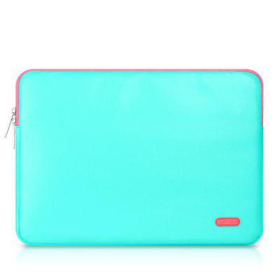 15-inch Classic PU Leather Laptop Protective Bag for MacBook