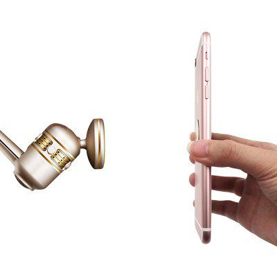 chetaitai N773 Air Vent Magnetic Car Mount Phone HolderCar Phone Holder<br>chetaitai N773 Air Vent Magnetic Car Mount Phone Holder<br><br>Apply to: Apple iPhone,Blackberry,HTC,LG,Motorola,Nokia,SAMSUNG<br>Brand: chetaitai<br>Material: ABS<br>Model: N773<br>Mounting Location: Air Vent<br>Mounting Type: Magnetic<br>Package Contents: 1 x Air Vent Magnetic Car Mount Phone Holder, 1 x Round Iron Sheet, 1 x Flavor Solid Perfume<br>Package size (L x W x H): 8.50 x 8.30 x 4.00 cm / 3.35 x 3.27 x 1.57 inches<br>Package weight: 0.1100 kg<br>Product size (L x W x H): 5.80 x 6.30 x 3.00 cm / 2.28 x 2.48 x 1.18 inches<br>Product weight: 0.0900 kg<br>Type: Mount