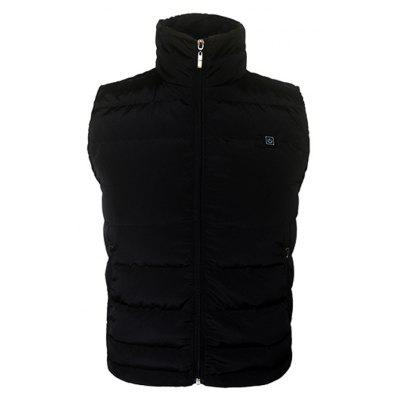 Men Trendy Warm Solid Color Electric Heated VestWaistcoats<br>Men Trendy Warm Solid Color Electric Heated Vest<br><br>Closure Type: Zipper<br>Material: Down, Polyester<br>Occasion: Daily Use, Going Out<br>Package Contents: 1 x Electric Heated Vest, 1 x Portable Power Source, 1 x Wire<br>Package size: 35.00 x 29.00 x 8.00 cm / 13.78 x 11.42 x 3.15 inches<br>Package weight: 0.8520 kg<br>Pattern: Solid Color<br>Product weight: 0.7000 kg