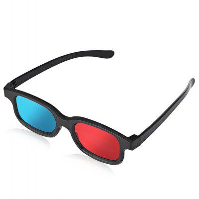 Anaglyph Dimensional 3D Vision Glasses for TV Movie Game   Red Blue 237066401