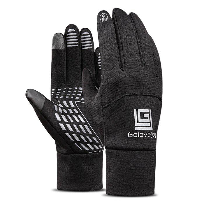 Pair of  Winter Full-finger Touch Screen Warm-keeping Gloves