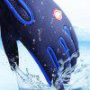 Pair of Touch Screen Full-finger Warm-keeping Gloves - BLUE