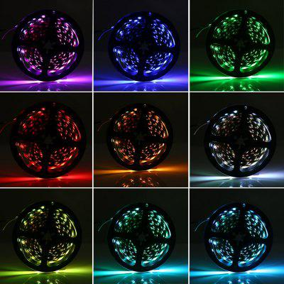 5050 RGB USB LED Light StripLED Strips<br>5050 RGB USB LED Light Strip<br><br>Beam Angle: 360 degree<br>Color Temperature or Wavelength: warm white 3000 - 3500k, natural white 3500 - 4500k, white 6000 - 6500k, red 650 - 660nm, green 515 - 520nm, blue 445 - 450nm, purple 400 - 435nm, yellow 597 - 577nm<br>Features: Festival Lighting, with Remote Control<br>LED Quantity: 240<br>Length ( m ): 4<br>Light Source: 5050 SMD<br>Package Content: 1 x LED Strip Light, 1 x LED Controller Dimmer, 1x Remote Control, 1 x English Manual<br>Package size (L x W x H): 16.00 x 15.00 x 3.00 cm / 6.3 x 5.91 x 1.18 inches<br>Package weight: 0.1020 kg<br>Product size (L x W x H): 13.00 x 13.00 x 1.20 cm / 5.12 x 5.12 x 0.47 inches<br>Product weight: 0.0610 kg<br>Type: String Lights<br>Voltage: DC 5V<br>Wattage (W): 28W
