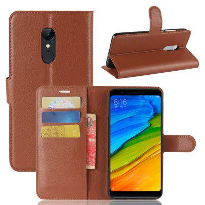 Multifunction Leather Phone Case with Stand HolderCases &amp; Leather<br>Multifunction Leather Phone Case with Stand Holder<br><br>Compatible Model: Xiaomi Redmi 5 Plus<br>Features: Full Body Cases<br>Mainly Compatible with: Xiaomi<br>Material: PU Leather, TPU<br>Package Contents: 1 x Phone Cover Case<br>Package size (L x W x H): 17.10 x 9.10 x 2.80 cm / 6.73 x 3.58 x 1.1 inches<br>Package weight: 0.0860 kg<br>Product Size(L x W x H): 16.00 x 8.00 x 1.80 cm / 6.3 x 3.15 x 0.71 inches<br>Product weight: 0.0650 kg<br>Style: Modern