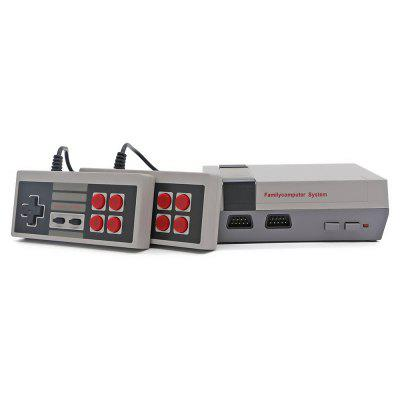 Classic Retro Game Console - UpgradedGame Controllers<br>Classic Retro Game Console - Upgraded<br><br>Appliable Crowd: Unisex<br>Materials: Plastic<br>Nature: Anime<br>Package Contents: 1 x Retro Classic Gaming Console , 2 x Controllers , 1 x Power Supply , 1 x AV Cable<br>Package size: 22.00 x 16.50 x 7.50 cm / 8.66 x 6.5 x 2.95 inches<br>Package weight: 0.5200 kg<br>Product weight: 0.1450 kg