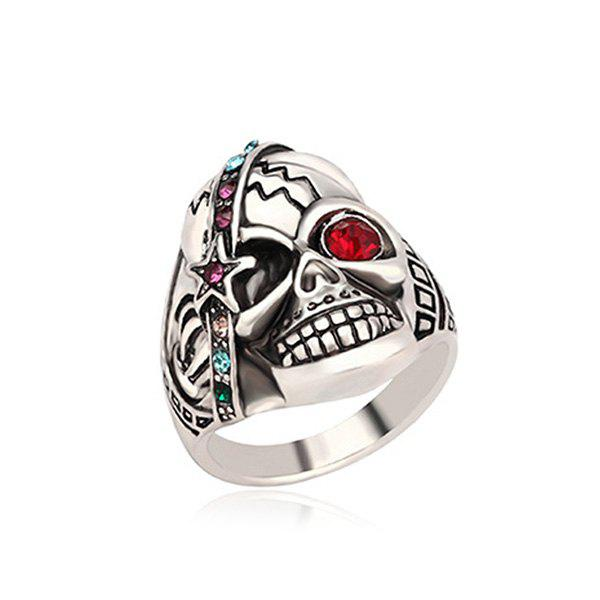 Personalized Skull Ring for Couple