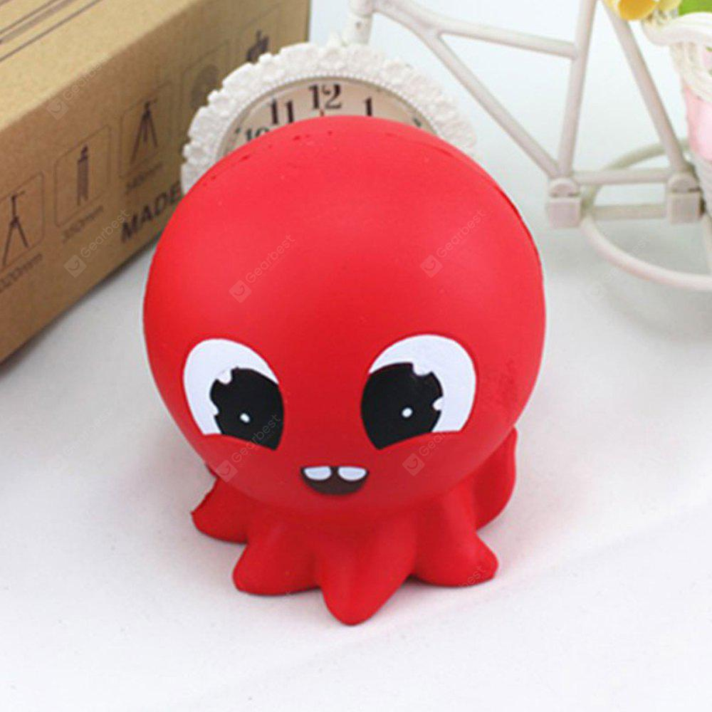 Jumbo Squishy Squeeze Stress Relief Simulation Octopus Toy