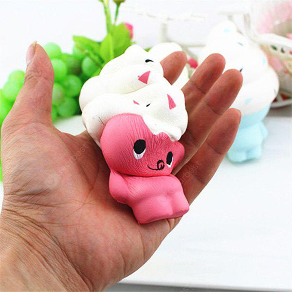 Jumbo Squishy Stress Relief Ice Cream Doll PU Toy Decoration