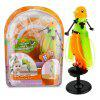 CX - 51 Creative Induction Flying Parrot Toy - ORANGE