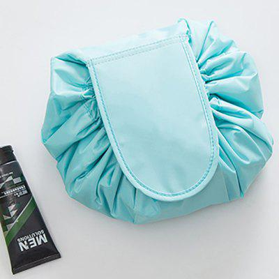Lazy Cosmetic Bag Drawstring Portable Travel Pouch