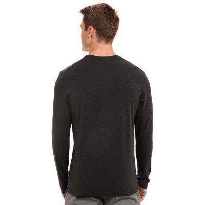 Male Stylish Long Sleeve T-shirtMens Long Sleeves Tees<br>Male Stylish Long Sleeve T-shirt<br><br>Material: Cotton, Spandex<br>Neckline: Round Collar<br>Package Content: 1 x T-shirt<br>Package size: 35.00 x 25.00 x 2.00 cm / 13.78 x 9.84 x 0.79 inches<br>Package weight: 0.2900 kg<br>Product weight: 0.2700 kg<br>Season: Winter, Autumn<br>Sleeve Length: Long Sleeves<br>Style: Casual