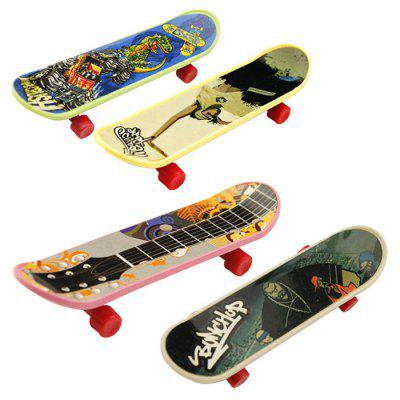 Novel Finger Skateboard ToyNovelty Toys<br>Novel Finger Skateboard Toy<br><br>Features: Creative Toy<br>Materials: Metal, Plastic<br>Package Contents: 3 x Fingerboard<br>Package size: 15.00 x 5.00 x 2.00 cm / 5.91 x 1.97 x 0.79 inches<br>Package weight: 0.0650 kg<br>Product size: 9.50 x 2.40 x 1.50 cm / 3.74 x 0.94 x 0.59 inches<br>Product weight: 0.0450 kg<br>Series: Entertainment<br>Theme: Sports