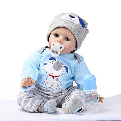 Soft Silicone Simulation Reborn Baby Doll Toy for ChildrenStuffed Cartoon Toys<br>Soft Silicone Simulation Reborn Baby Doll Toy for Children<br><br>Features: Soft, Stuffed and Plush<br>Materials: Silica Gel<br>Package Contents: 1 x Reborn Doll<br>Package size: 57.00 x 27.00 x 10.00 cm / 22.44 x 10.63 x 3.94 inches<br>Package weight: 1.8000 kg<br>Product size: 55.00 x 25.00 x 5.00 cm / 21.65 x 9.84 x 1.97 inches<br>Product weight: 1.4000 kg<br>Series: Reborn Doll<br>Theme: Baby Doll