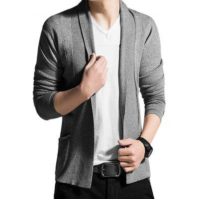 Fashionable V-neck Men Sweater CoatMens Sweaters &amp; Cardigans<br>Fashionable V-neck Men Sweater Coat<br><br>Clothes Type: Sweatshirt<br>Material: Cotton<br>Occasion: Casual, Going Out<br>Package Contents: 1 x Sweater, 1 x Package<br>Package size: 38.00 x 27.00 x 4.00 cm / 14.96 x 10.63 x 1.57 inches<br>Package weight: 0.8200 kg<br>Product size: 35.00 x 25.00 x 2.00 cm / 13.78 x 9.84 x 0.79 inches<br>Product weight: 0.8000 kg<br>Style: Classic, Casual<br>Thickness: Regular