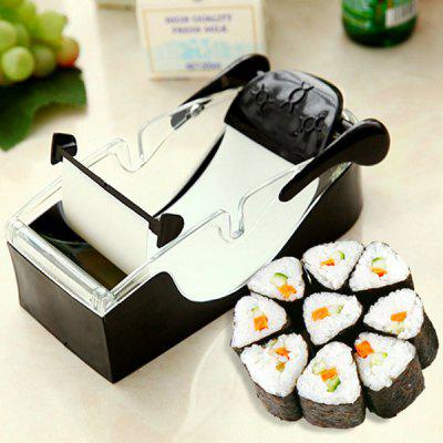 Creative Sushi Maker Machine DIY Vegetables Meat RollerOther Cooking Tools<br>Creative Sushi Maker Machine DIY Vegetables Meat Roller<br><br>Package Contents: 1 x Sushi Maker<br>Package Size(L x W x H): 20.00 x 10.00 x 8.00 cm / 7.87 x 3.94 x 3.15 inches<br>Package weight: 0.2500 kg<br>Product Size(L x W x H): 19.00 x 8.00 x 6.00 cm / 7.48 x 3.15 x 2.36 inches<br>Product weight: 0.2200 kg
