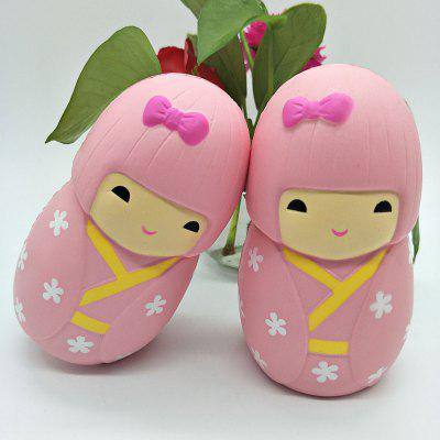 PU Suni Japon Dollusu Jumbo Squishy Oyuncak 1pc