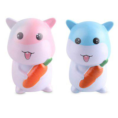 Squishy Stress Relief Hamster PU Toy Decoration 1pcSquishy toys<br>Squishy Stress Relief Hamster PU Toy Decoration 1pc<br><br>Age Range: &gt; 3 years old<br>Materials: PU<br>Package Content: 1 x Toy<br>Package Dimension: 15.00 x 10.00 x 8.00 cm / 5.91 x 3.94 x 3.15 inches<br>Package Weights: 0.0740 kg<br>Product Dimension: 12.00 x 7.00 x 5.00 cm / 4.72 x 2.76 x 1.97 inches<br>Products Type: Squishy Toys