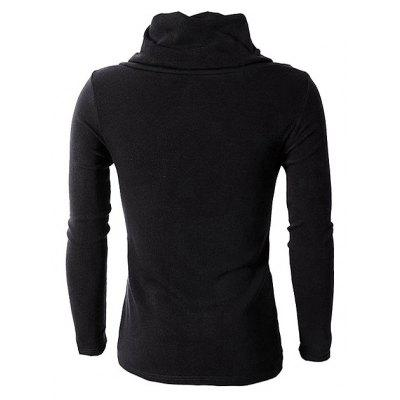 Male Trendy Turtleneck Spliced Sweater with Irregular HemMens Sweaters &amp; Cardigans<br>Male Trendy Turtleneck Spliced Sweater with Irregular Hem<br><br>Package Contents: 1 x Sweater<br>Package size: 35.00 x 25.00 x 2.00 cm / 13.78 x 9.84 x 0.79 inches<br>Package weight: 0.3500 kg<br>Product weight: 0.3300 kg