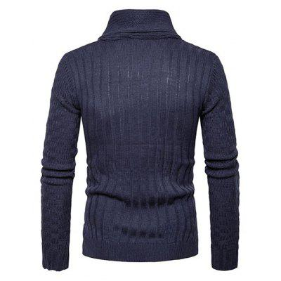 Male Simple Pure Color Funnel Neck SweaterMens Sweaters &amp; Cardigans<br>Male Simple Pure Color Funnel Neck Sweater<br><br>Package Contents: 1 x Sweater<br>Package size: 35.00 x 25.00 x 2.00 cm / 13.78 x 9.84 x 0.79 inches<br>Package weight: 0.5200 kg<br>Product weight: 0.5000 kg